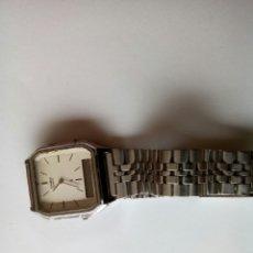 Relojes - Casio: RELOJ CASIO DE ACERO CON DOBLE LECTURA Y PULSERA ORIGINAL.. Lote 169749780