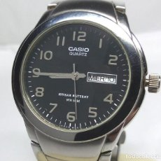 Relojes - Casio: RELOJ CASIO DE CUARZO, CORREA ORIGINAL REDUCIDA - CAJA 36 MM - FUNCIONA CORRECTAMENTE. Lote 171333348