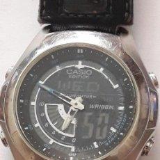 Relojes - Casio: RELOJ DIGITAL CASIO EDIFICE, FUNCIONA. Lote 171524937