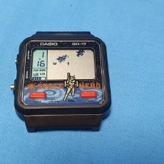 Relojes - Casio: RELOJ CASIO GAME GH-17 SPACE HERO JAPAN 1980 FUNCIONA. Lote 171627373