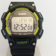 Relojes - Casio: RELOJ CASIO W-736 MODULO 3446 ALARMA VIBRADOR. Lote 171781654