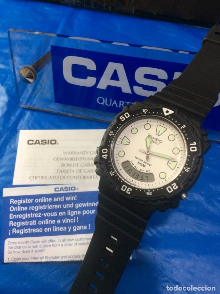 Relojes - Casio: RELOJ CASIO AW 305 BONITO DEPORTIVO VINTAGE ¡¡NUEVO!! (VER FOTOS) - Foto 3 - 172306038