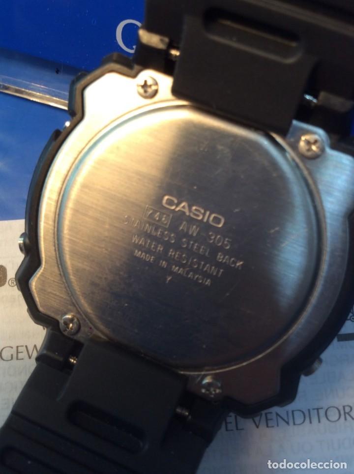 Relojes - Casio: RELOJ CASIO AW 305 BONITO DEPORTIVO VINTAGE ¡¡NUEVO!! (VER FOTOS) - Foto 5 - 172306038