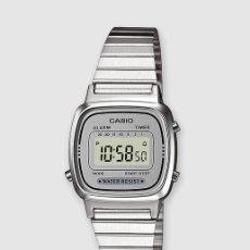 Relojes - Casio: RELOJ CASIO PLATEADO. NUEVO, EN CAJA Y CON ETIQUETAS. Lote 173588607