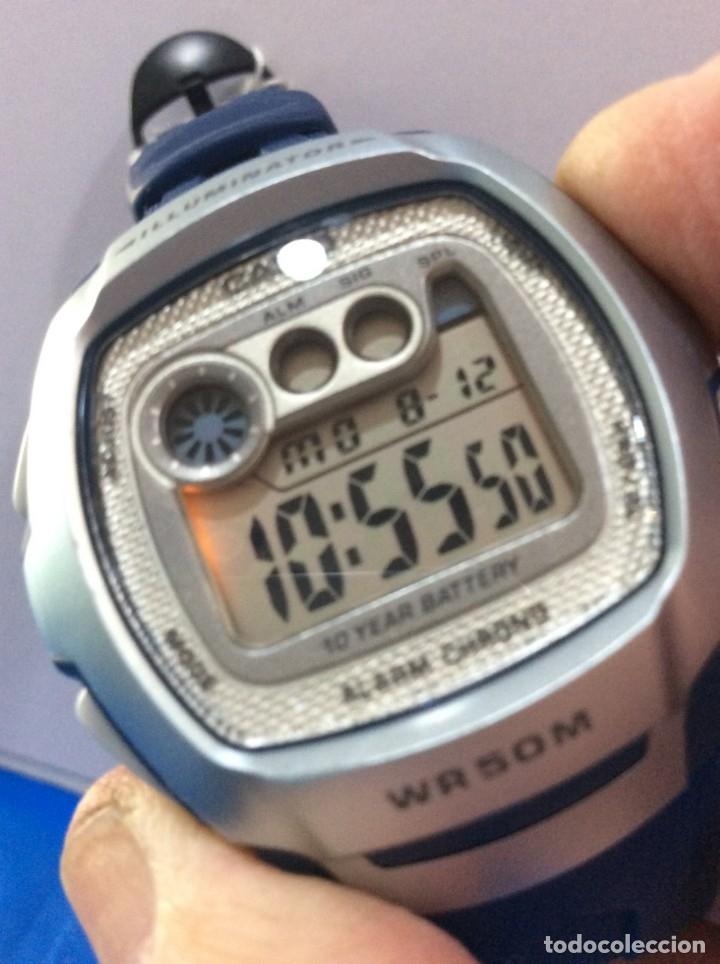 RELOJ CASIO W 210 - SPORT AZUL - ¡¡¡NUEVO!!! (VER FOTOS) (Relojes - Relojes Actuales - Casio)