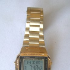 Relojes - Casio: CASIO QUARTZ VINTAGE DB 360, ALARMA, CRONO, FUNCIONA. MED. 3,50 CM. Lote 173954144