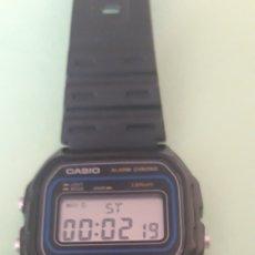 Relojes - Casio: CASIO W-59 ALARMA, CRONO WATER RESISTENTE FUNCIONA. Lote 174394084