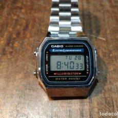 Relojes - Casio: RELOJ DIGITAL CASIO A168 - 1572 CORREA DE ACERO. Lote 174874933