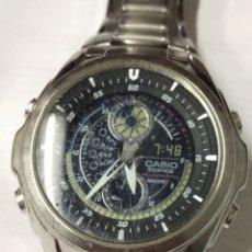 Relojes - Casio: RELOJ CASIO EDIFICE FUNCIONANDO. Lote 175130555