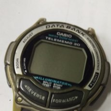 Relojes - Casio: RELOJ VINTAGE CASIO DATA BANK DB-34H. Lote 175824662