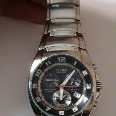 Relojes - Casio: RELOJ DE PULSERA CABALLERO CASIO CRONOGRAFO MECANISMO QUARTZ. Lote 176196030