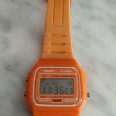 Relojes - Casio: RELOJ CASIO F91 NARANJA. Lote 176217998