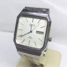 Relojes - Casio: RELOJ CASIO DE CUARZO - CAJA 28 CM - FUNCIONA CORRECTAMENTE. Lote 176682274