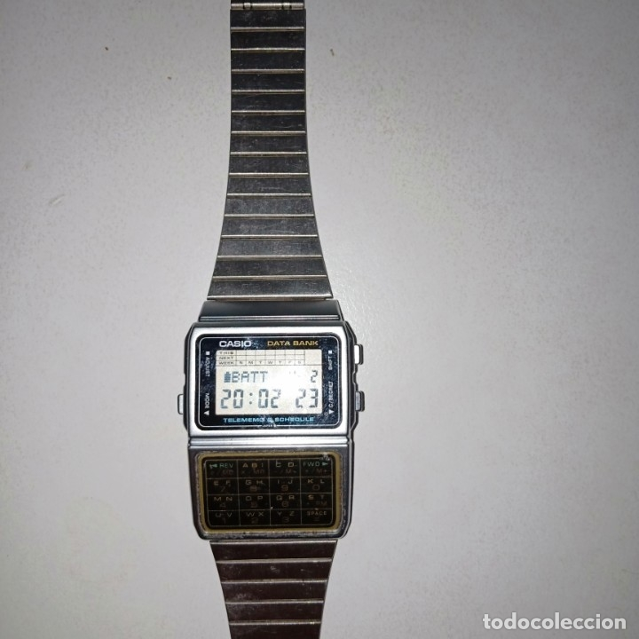 RELOJ CALCULADORA CASIO DATA BANK (Relojes - Relojes Actuales - Casio)