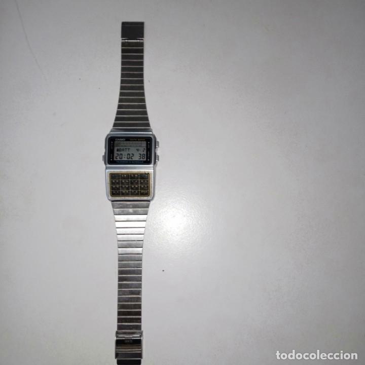 Relojes - Casio: Reloj calculadora Casio data Bank - Foto 2 - 178347122