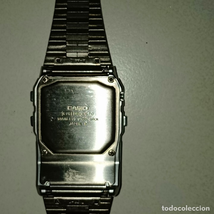 Relojes - Casio: Reloj calculadora Casio data Bank - Foto 4 - 178347122