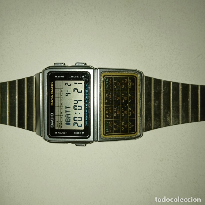 Relojes - Casio: Reloj calculadora Casio data Bank - Foto 6 - 178347122