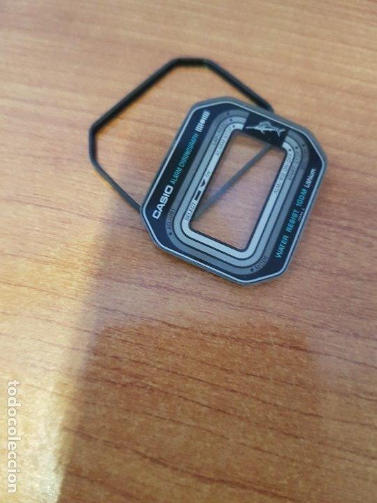Relojes - Casio: Cristal (Vintage) CASIO Marlin con junta de goma, nuevo sin uso, cristal originales 100% CASIO - Foto 4 - 178562955