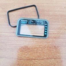 Relojes - Casio: CRISTAL (VINTAGE) CASIO CON ALARMA, JUNTA DE GOMA, NUEVO SIN USO, CRISTAL ORIGINALES 100% CASIO . Lote 178653137