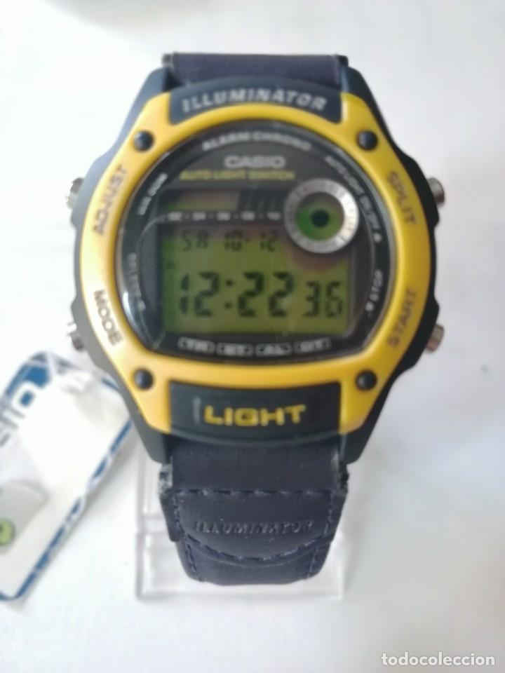 Relojes - Casio: RELOJ CASIO ILLUMINATOR ,ALARMAN-CHRONO.NUEVO STOCK DE ANTIGUA RELOJERÍA. - Foto 5 - 179042115