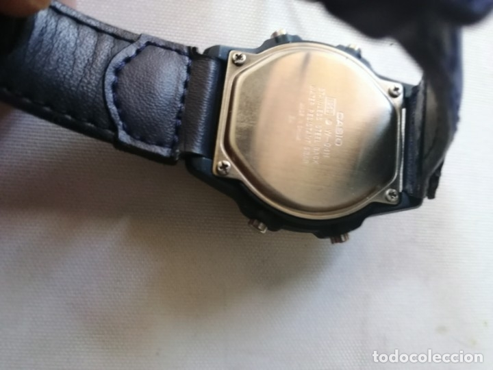 Relojes - Casio: RELOJ CASIO ILLUMINATOR ,ALARMAN-CHRONO.NUEVO STOCK DE ANTIGUA RELOJERÍA. - Foto 6 - 179042115