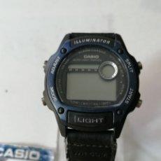 Relojes - Casio: RELOJ CASIO ILLUMINATOR ,ALARMAN-CHRONO.NUEVO STOCK DE ANTIGUA RELOJERÍA.. Lote 179048531