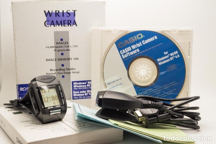 CASIO VINTAGE WQV-1 CAMARA, DATABANK (Relojes - Relojes Actuales - Casio)