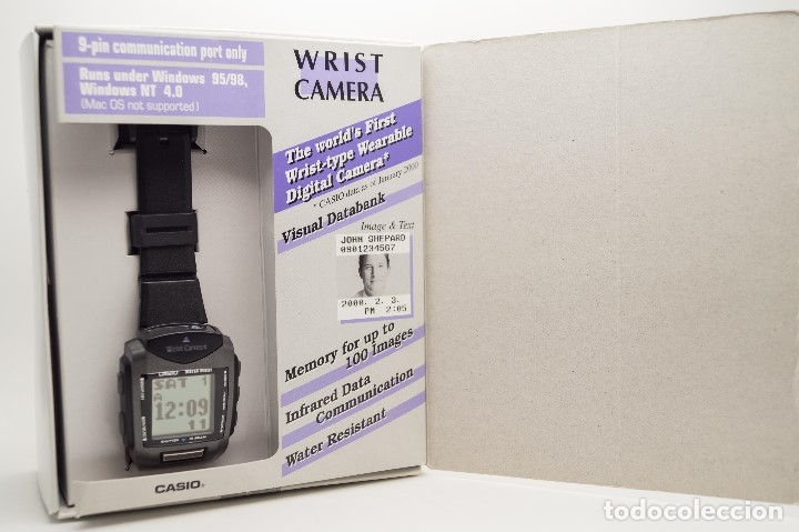 Relojes - Casio: CASIO VINTAGE WQV-1 CAMARA, DATABANK - Foto 13 - 180405640