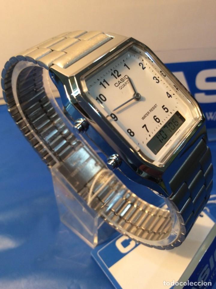RELOJ CASIO AQ 230 ¡¡¡DE LOS PRIMEROS ANA-DIGI!!! ¡¡NUEVO¡¡ (VER FOTOS) (Relojes - Relojes Actuales - Casio)