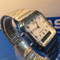 Relojes - Casio: RELOJ CASIO AQ 230 ¡¡¡DE LOS PRIMEROS ANA-DIGI!!! ¡¡NUEVO¡¡ (VER FOTOS). Lote 180421706