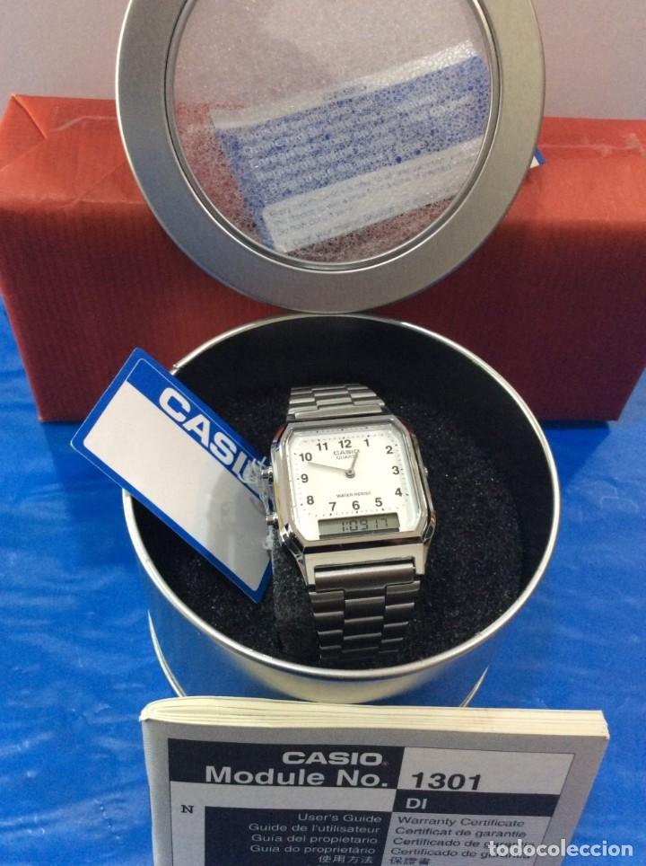Relojes - Casio: RELOJ CASIO AQ 230 ¡¡¡DE LOS PRIMEROS ANA-DIGI!!! ¡¡NUEVO¡¡ (VER FOTOS) - Foto 3 - 232194040