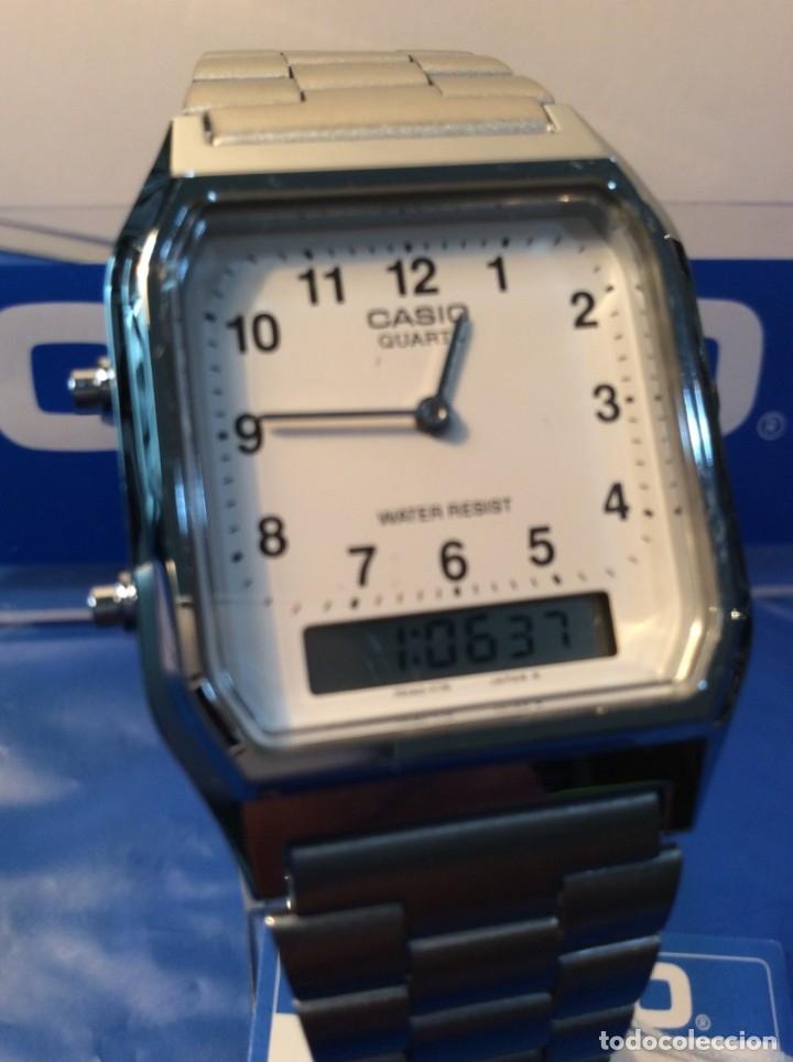 Relojes - Casio: RELOJ CASIO AQ 230 ¡¡¡DE LOS PRIMEROS ANA-DIGI!!! ¡¡NUEVO¡¡ (VER FOTOS) - Foto 4 - 232194040