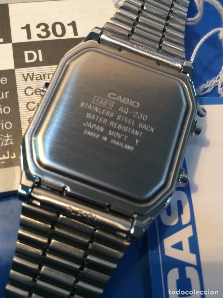 Relojes - Casio: RELOJ CASIO AQ 230 ¡¡¡DE LOS PRIMEROS ANA-DIGI!!! ¡¡NUEVO¡¡ (VER FOTOS) - Foto 5 - 232194040