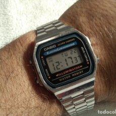 Relojes - Casio: RELOJ ( CASIO ILLUMINATOR 1572. WATER RESISTANT.) FUNCIONANDO.. Lote 198019697