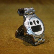 Relojes - Casio: RELOJ CASIO DIGITAL,MODELO DGW 301,MODULO828,JAPAN DC,CORREA DE ACERO.. Lote 181018306