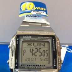 Relojes - Casio: RELOJ CASIO DB 360 ¡¡ BATERIA 10 AÑOS !! DATA BANK ¡¡NUEVO¡¡ (VER FOTOS). Lote 181091621