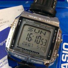 Relojes - Casio: RELOJ CASIO DB 360 PIEL ¡¡ BATERIA 10 AÑOS !! DATA BANK ¡¡NUEVO¡¡ (VER FOTOS). Lote 181091768