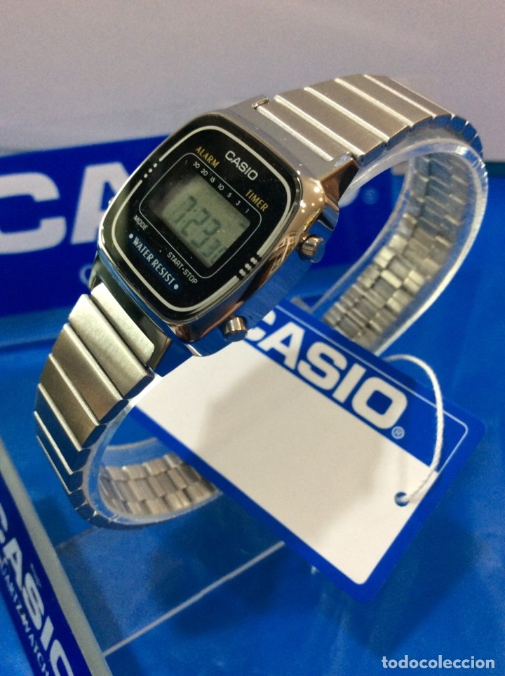 RELOJ CASIO LA 670 - CLASICO VINTAGE DE SRTA. - ¡¡NUEVO¡¡ (VER FOTOS) (Relojes - Relojes Actuales - Casio)