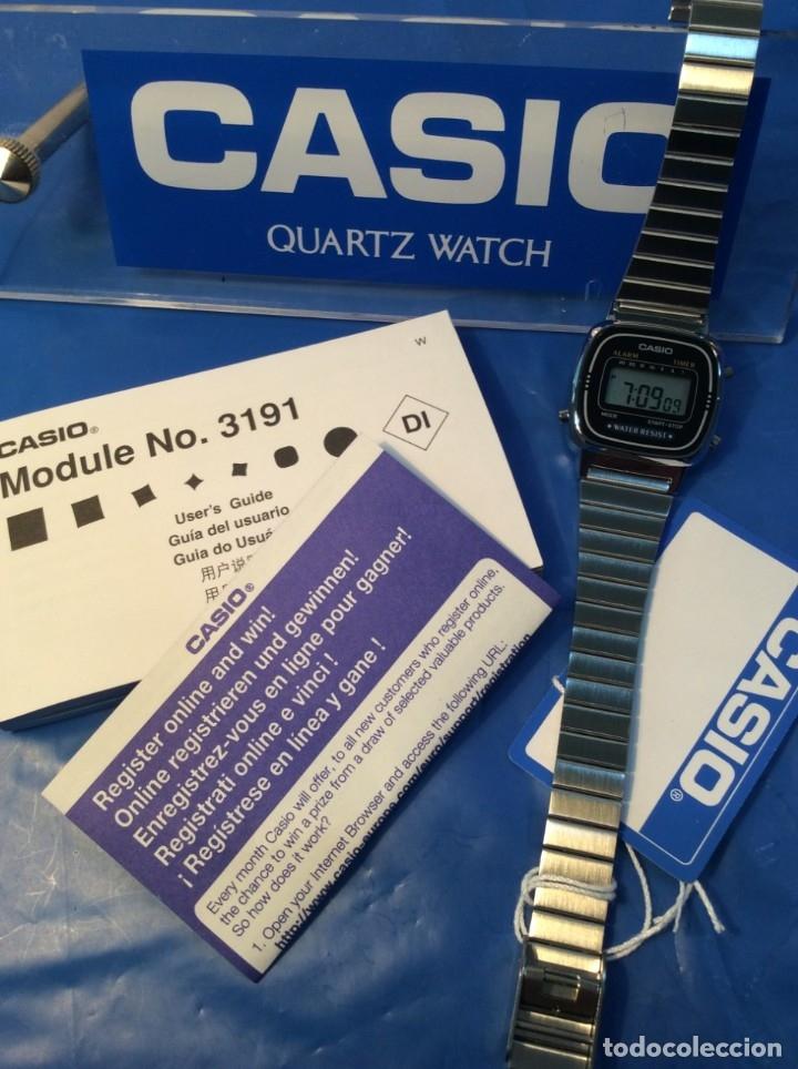 Relojes - Casio: RELOJ CASIO LA 670 - CLASICO VINTAGE DE SRTA. - ¡¡NUEVO¡¡ (VER FOTOS) - Foto 3 - 181092317