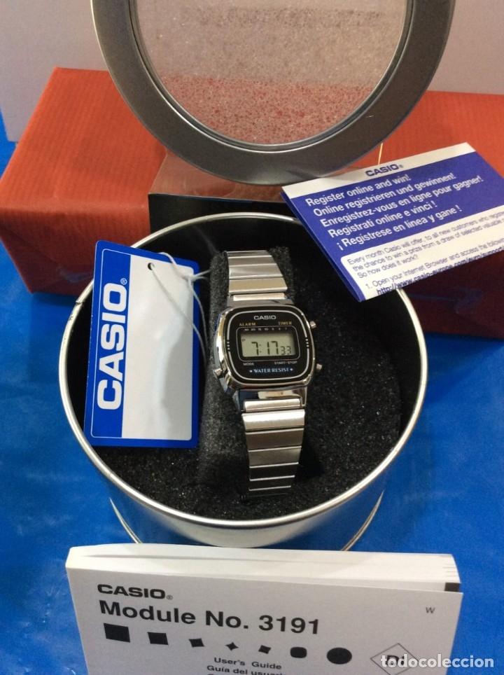 Relojes - Casio: RELOJ CASIO LA 670 - CLASICO VINTAGE DE SRTA. - ¡¡NUEVO¡¡ (VER FOTOS) - Foto 4 - 181092317