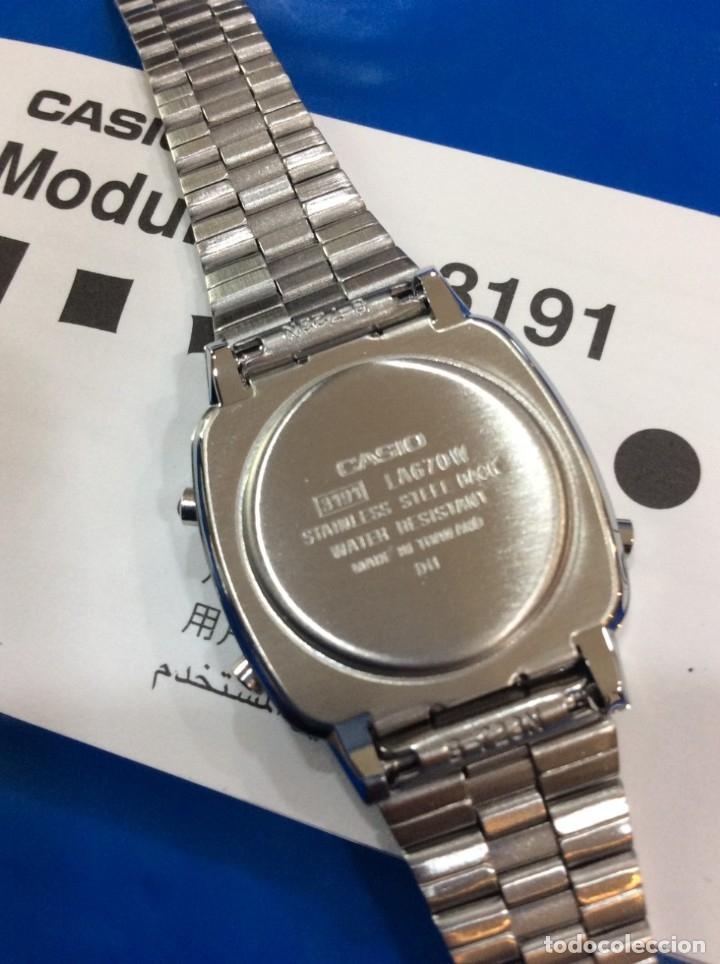Relojes - Casio: RELOJ CASIO LA 670 - CLASICO VINTAGE DE SRTA. - ¡¡NUEVO¡¡ (VER FOTOS) - Foto 5 - 181092317
