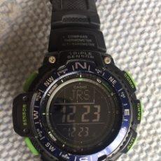 Relojes - Casio: RELOJ CASIO SGW-1000-2BER. Lote 182067288