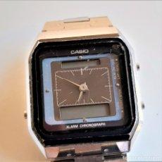 Relojes - Casio: RELOJ CASIO DIGITAL Y ANALOGICO - ESFERA 28.MM X 26.MM METAL. Lote 182098457