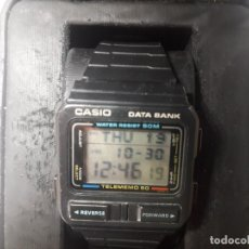 Relojes - Casio: RELOJ CASIO DATA BANK TELEMEMO 50 DB-54W MODULO 262 MADE IN JAPAN. Lote 183281845