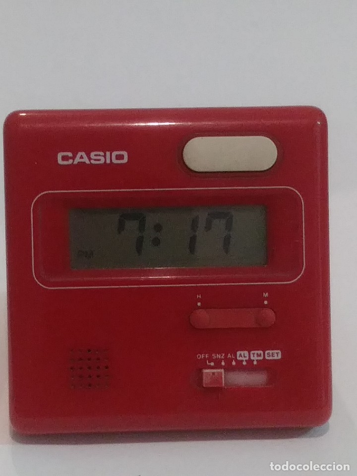 Relojes - Casio: CASIO RELOJ DESPERTADOR DIGITAL SOBREMESA - Foto 4 - 183318898