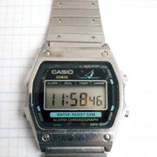 Relojes - Casio: CASIO VELERO WS-70 JAPAN MARLIN TODO ACERO FUCIONA PERO NO EL SONIDO. Lote 183373697