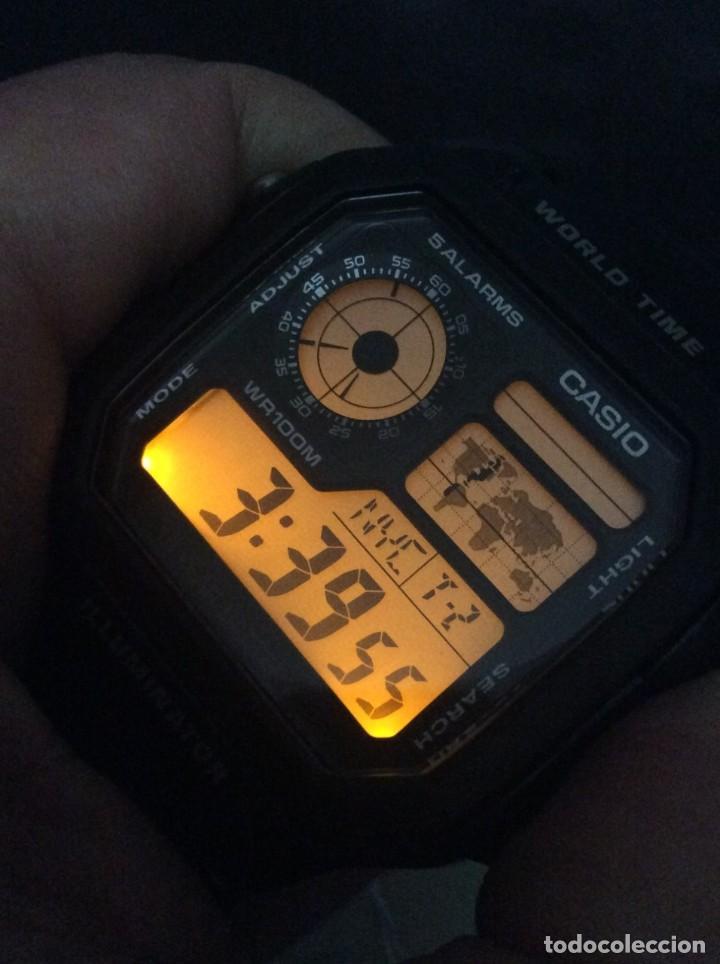Relojes - Casio: RELOJ CASIO AE 1200 ¡¡ 5 ALARMAS - WR 100 M !! ¡¡NUEVO!! (VER FOTOS) - Foto 2 - 184655125