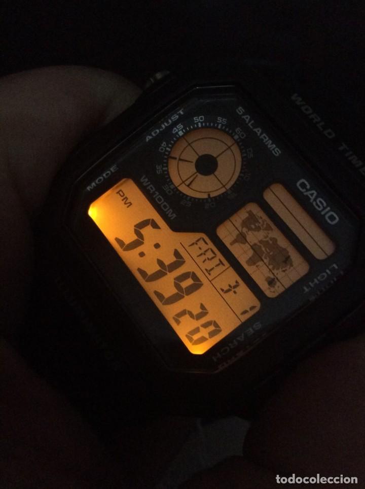 Relojes - Casio: RELOJ CASIO AE 1200 ¡¡ 5 ALARMAS - WR 100 M !! ¡¡NUEVO!! (VER FOTOS) - Foto 5 - 184655125