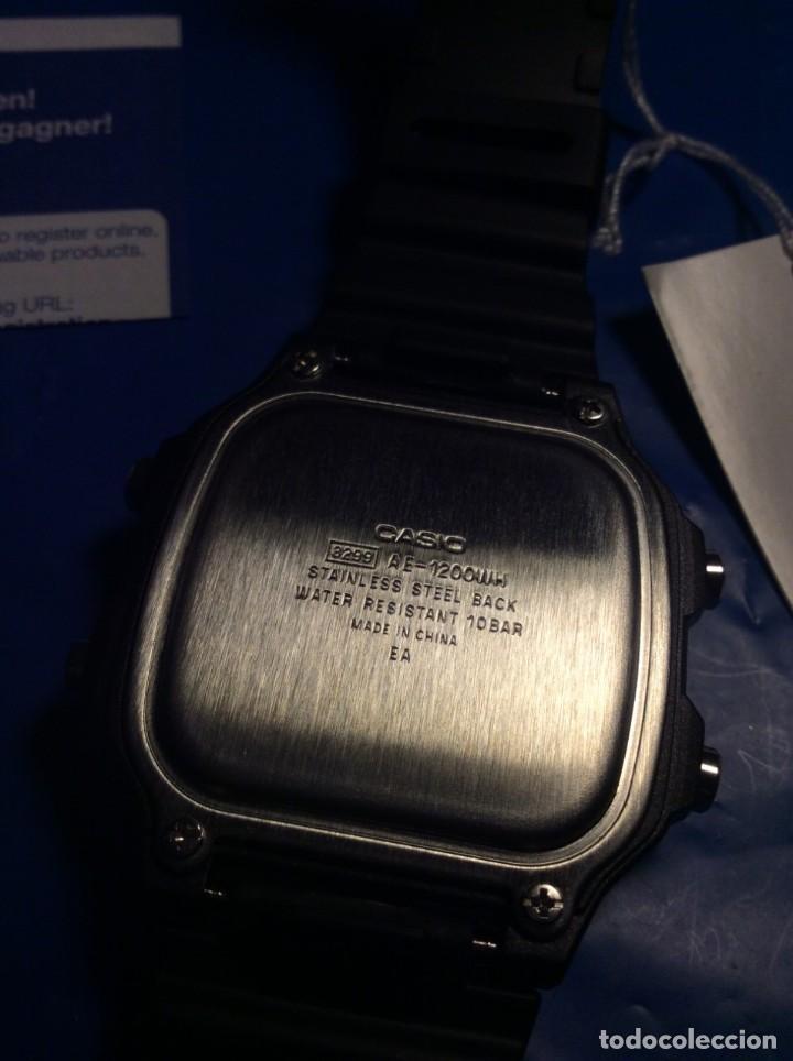 Relojes - Casio: RELOJ CASIO AE 1200 ¡¡ 5 ALARMAS - WR 100 M !! ¡¡NUEVO!! (VER FOTOS) - Foto 6 - 184655125