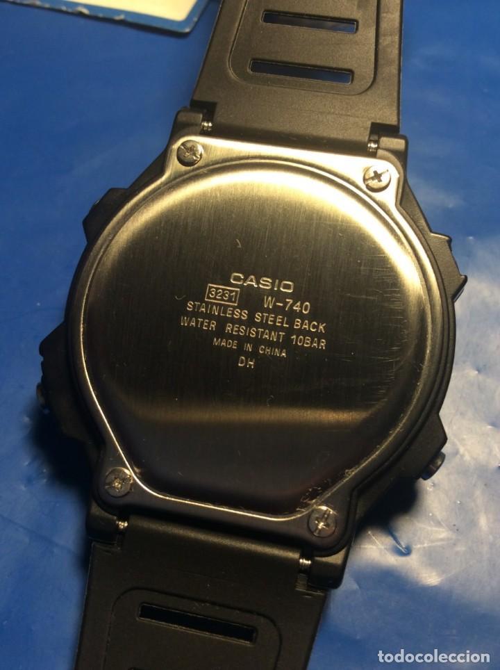 Relojes - Casio: RELOJ CASIO W 740 ¡¡ CLÁSICO VINTAGE !! ¡¡NUEVO!! (VER FOTOS) - Foto 6 - 184655912